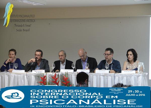 Congresso Internacional Sobre o Corpo em Psicanálise - IX Encontro Ítalo-Brasileiro de Psicanálise