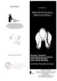 III Curso de Psicopatologia Psicanalítica